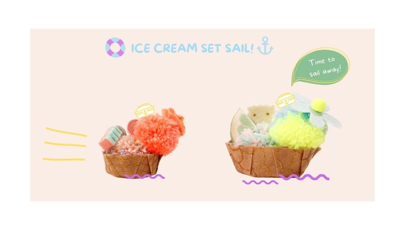 DIY Ice Cream Set Sail!